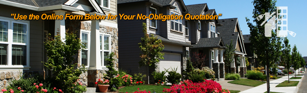 Use the Online Form Below for Your No-Obligation Quotation
